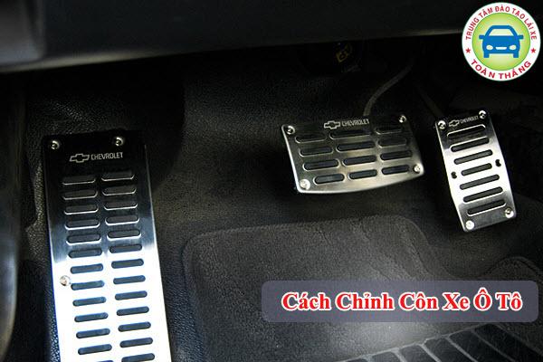 cách chỉnh côn xe ô tô