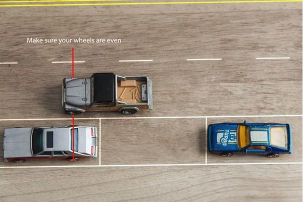 lùi xe ô tô đơn giản